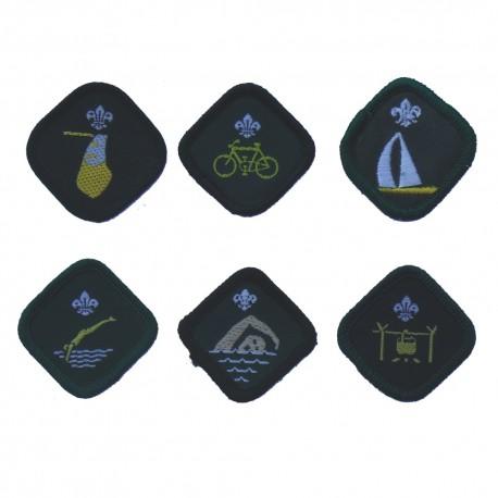 Badges groen