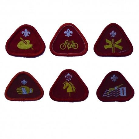 Badges rood